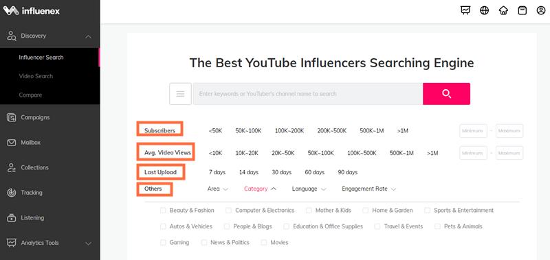 如何寻找YouTube红人——2020全球寻找网红的7款工具