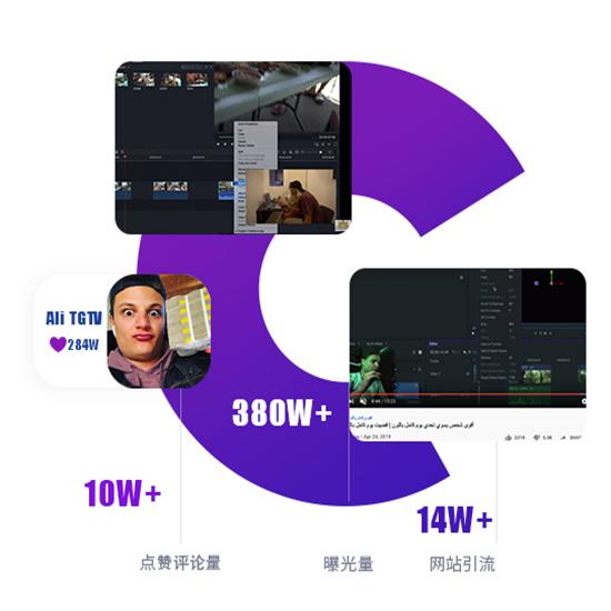 科技软件FilmoraPro网红营销案例