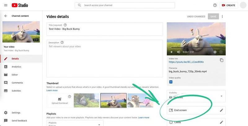 跟YouTube红人学营销:如何在视频中添加可点击的结束画面?