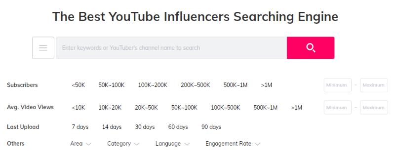 跨境电商应该了解的YouTube红人平台:Influenex